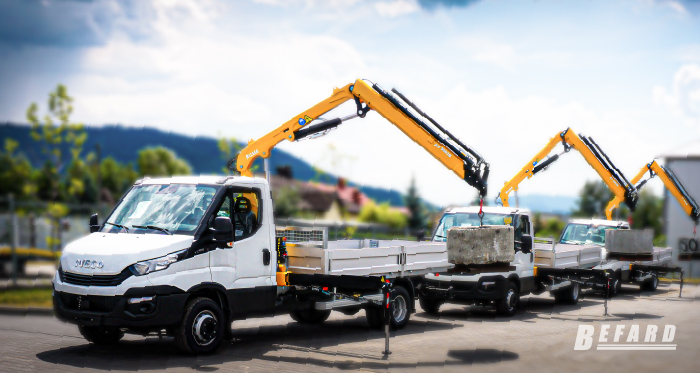 HDS cranes for pick-ups and trucks